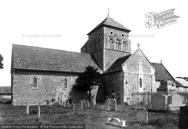 Shoreham-By-Sea, Old Shoreham Church 1890