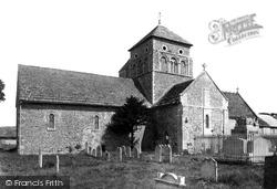Shoreham-By-Sea, Old Shoreham St Nicolas' Church 1890
