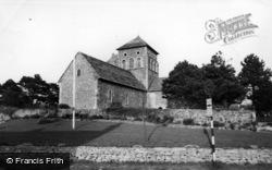 Shoreham-By-Sea, St Nicolas' Church c.1955