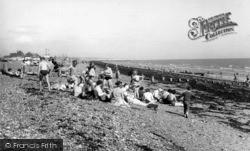 Shoreham-By-Sea, The Beach c.1960