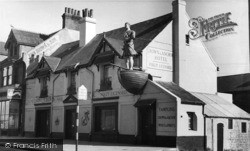 Shoreham-By-Sea, The Crown And Anchor Hotel c.1955