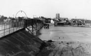 Shoreham-By-Sea, The Footbridge c.1950