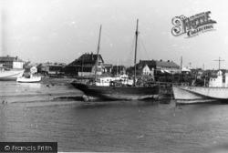 Shoreham-By-Sea, The Harbour c.1950