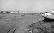 Shoreham-By-Sea, The Harbour c.1965