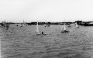 Shoreham-By-Sea, The River Adur c.1965