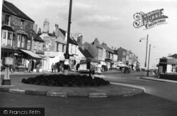 Shoreham-By-Sea, The Roundabout c.1950