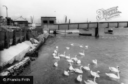 Shoreham-By-Sea, The Swans c.1965