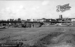 Shoreham-By-Sea, View Across The River Adur c.1960