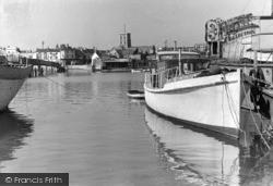 Shoreham-By-Sea, View From Lower Bridge c.1950