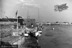 Shoreham-By-Sea, View From The Bridge c.1950