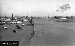 Shoreham-By-Sea, View From The Footbridge c.1960