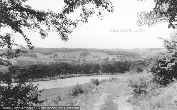 Photo Of Shoreham, View From Highfield Road C.1955