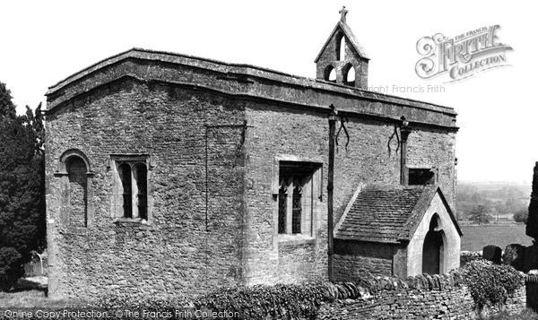 Photo of Shorthampton, All Saints' Church c.1955