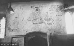 Shorwell, Parish Church, The Mural c.1955