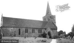 Shorwell, St Peter's Church c.1955