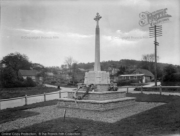 Shottermill, Camelsdale Memorial and Crossroads 1921