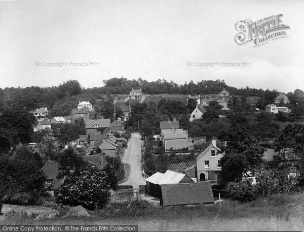 Photo of Shottermill, Critchmell 1925