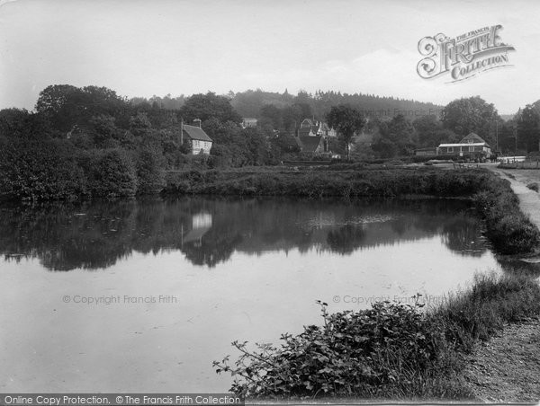 Photo of Shottermill, Ponds And Marley 1924