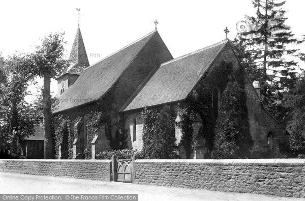 Photo of Shottermill, St Stephen's Church 1900