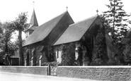 Shottermill, Church 1900