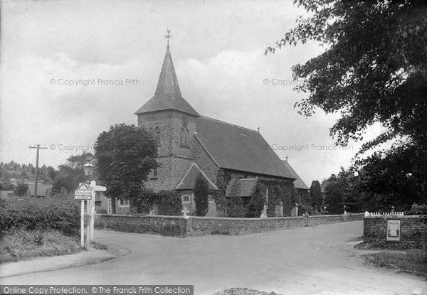 Shottermill, the Church 1914