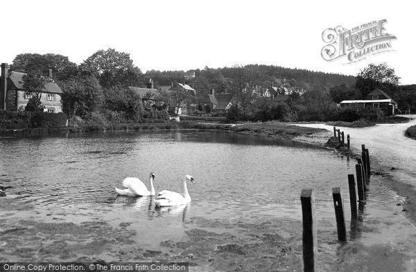 Photo of Shottermill, The Pond 1913