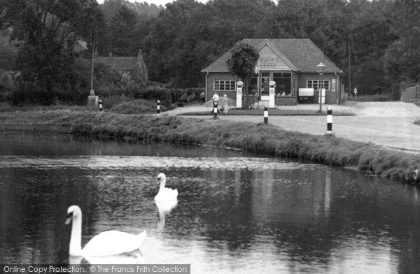 Photo of Shottermill, The Pond c.1955