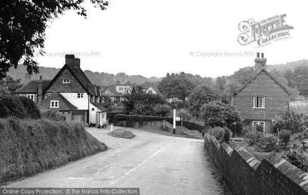 Photo of Shottermill, The Village c.1955