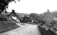 Shottermill, the Village c1955