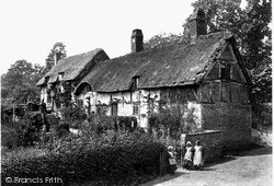 Shottery, Anne Hathaway's Cottage 1892