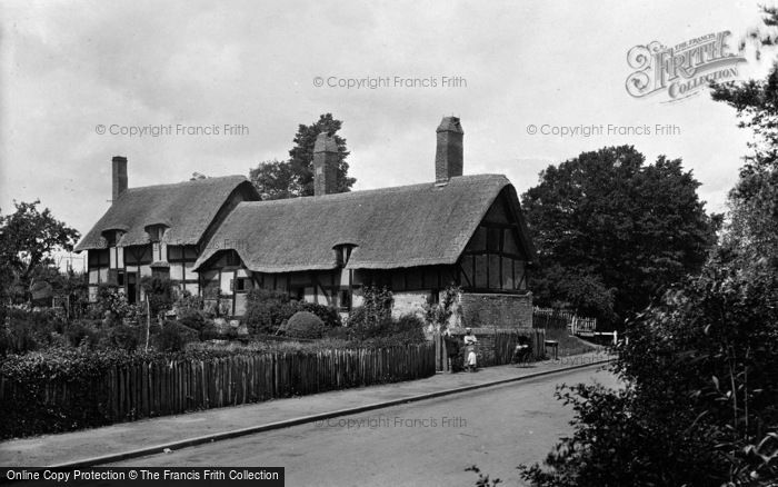 Photo of Shottery, Anne Hathaway's Cottage 1922