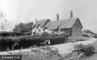 Shottery, Anne Hathaway's Cottage c1880