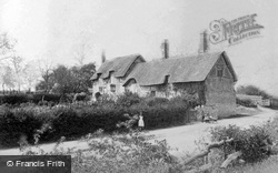 Shottery, Anne Hathaway's Cottage c.1880