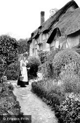 Shottery, Anne Hathaway's Cottage c.1890