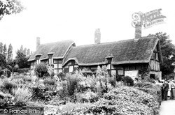 Shottery, Anne Hathaway's Cottage c.1960
