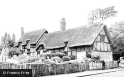 Shottery, Anne Hathaway's Cottage c.1965
