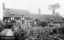 Anne Hathaway's Cottage From Gardens c.1955, Shottery