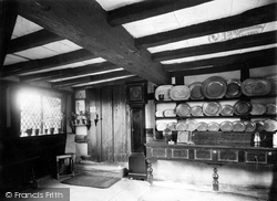 Anne Hathaway's Cottage, The Parlour 1912, Shottery