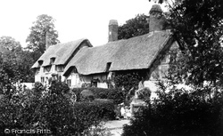Anne Hathaway's House 1892, Shottery