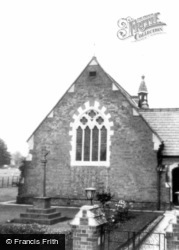 St Andrew's Church c.1965, Shottery
