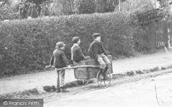 Shottery, Village Children Playing c.1900