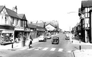 Shotton, Chester Road  c1965