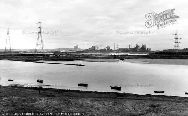 Shotton, John Summers Works and the Dee c1965