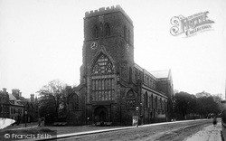 Shrewsbury, Abbey 1896