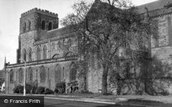 Shrewsbury, Abbey c.1950