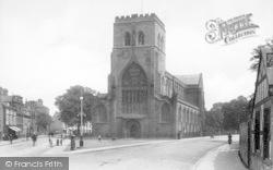 Shrewsbury, Abbey Church 1911