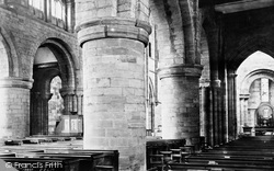 Shrewsbury, Abbey Church, Across The Nave 1891
