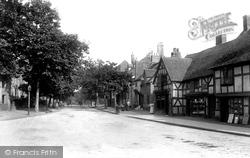 Shrewsbury, Abbey Foregate 1896