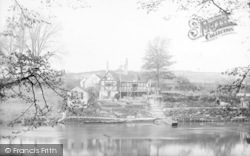 Shrewsbury, Boat House Inn 1891