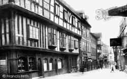 Shrewsbury, Butcher Row 1924